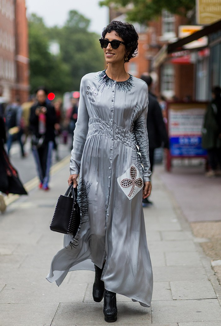 London Fashion Week Street Style Spring 2017 031 Rene Bardot